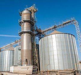 Завод по переработке соевых бобов и семян подсолнечника